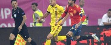 Romania-Spania in preliminarii