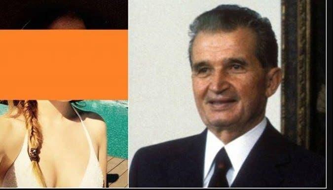Ea e nepoata sexy și necunoscută a lui Nicolae Ceaușescu! Fuge de presă, dar noi avem imaginile. Mulți spun că seamănă cu bunicul…