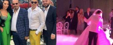 Fiica lui Cristian Piedone s-a căsătorit religios în acest weekend.. Fiica fostului primar al sectorului 4 din capitală a purtat o rochie de mierseasă sexy.