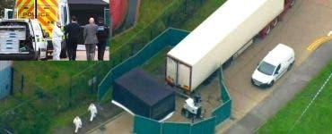 Camionul în care au fost găsite cele 39 de cadavre, era unul frigorific