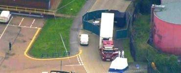 39 de cadavre au fost găsite într-un camion din Londra