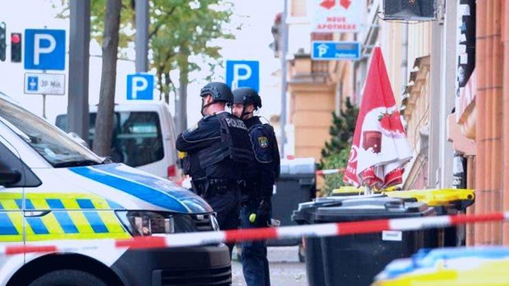 Atac armat la o sinagogă din Germania. Două persoane au murit