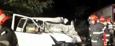 Accident mortal în Hunedoara. Două persoane au murit, iar alte două sunt rănite grav