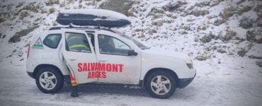 Accident pe Transfăgărășan. Patru tineri s-au prăbușit cu mașina de la o înălțime de 40 de metri