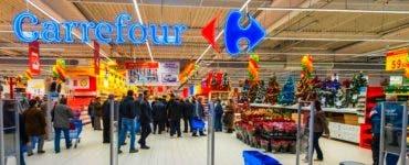 Două magazine Carrefour au fost închise. Inspectorii ANPC au constatat nereguli grave
