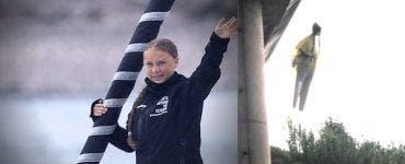 Apar primele amenințări la adresa activistei Greta Thunberg