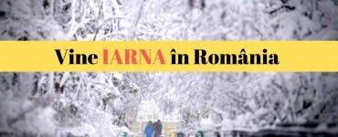 Avertisment ANM! Vine iarna grea pentru România