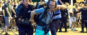 Jurnalistul german amendat la mitingul din 10 august 2018 a câștigat procesul cu Jandarmeria