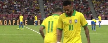 Neymar s-a accidentat din nou