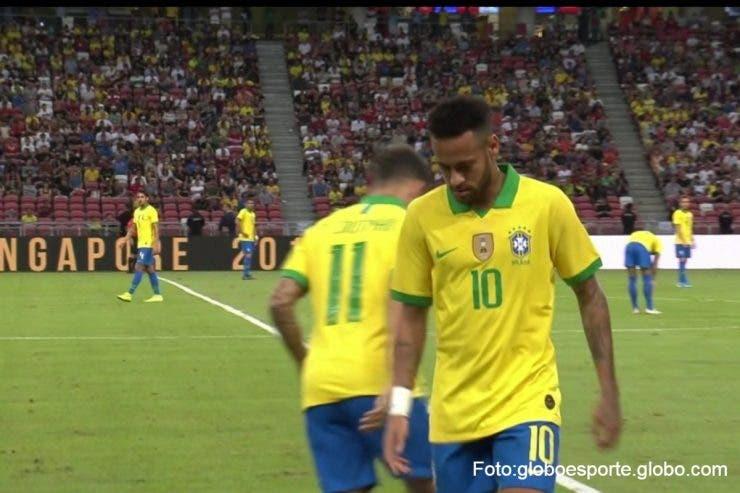 Neymar s-a accidentat din nou