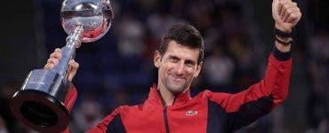 Novak Djokovic, campion la Tokyo