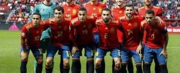 Spaniolii au vrut să se distreze după meciul cu Suedia
