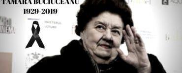 Trupul neînsuflețit al actriței Tamara Buciuceanu va fi depus joi la Teatrul Bulandra
