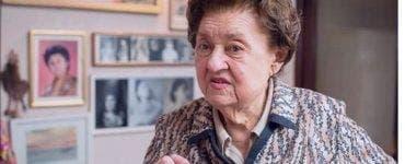 Actrița Tamara Buciuceanu, internată de urgență la spital