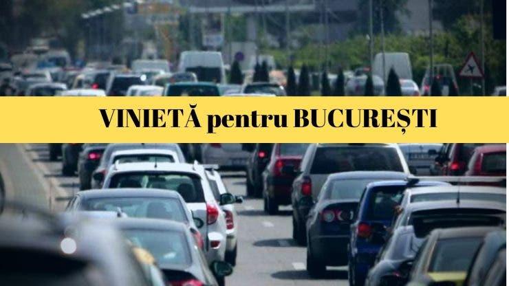 Taxe pentru autoturismele care poluează. Lista mașinilor care nu mai pot circula în centrul Bucureștiului