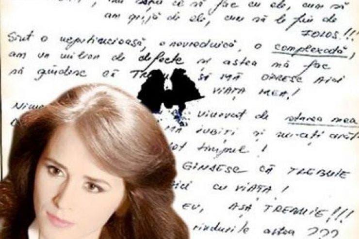 Biletul de adio scris de Mădălina