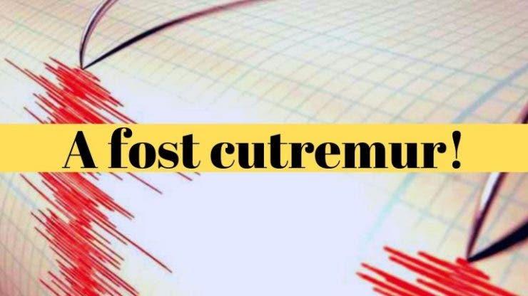 Cutremur în România! Cinci seisme în mai puțin de 24 de ore