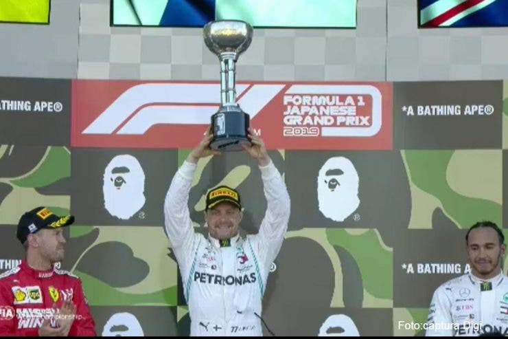 Valtteri Bottas, victorie în Marele Premiu al Japoniei