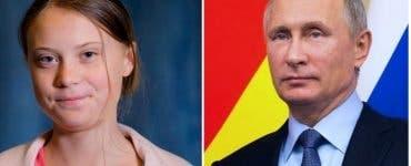 Vladimir Putin critică discursul adolescentei suedeze Greta Thunberg