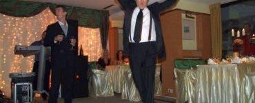 Gigi Becali a făcut show la petrecerea de cununie a fiicei sale