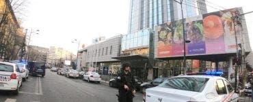 Amenințare cu bombă în centrul Capitalei!