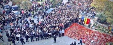 Tragedia de la Colectiv. Marș comemorativ pentru victimele din Clubul Colectiv