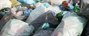 munți de gunoaie în Brăila
