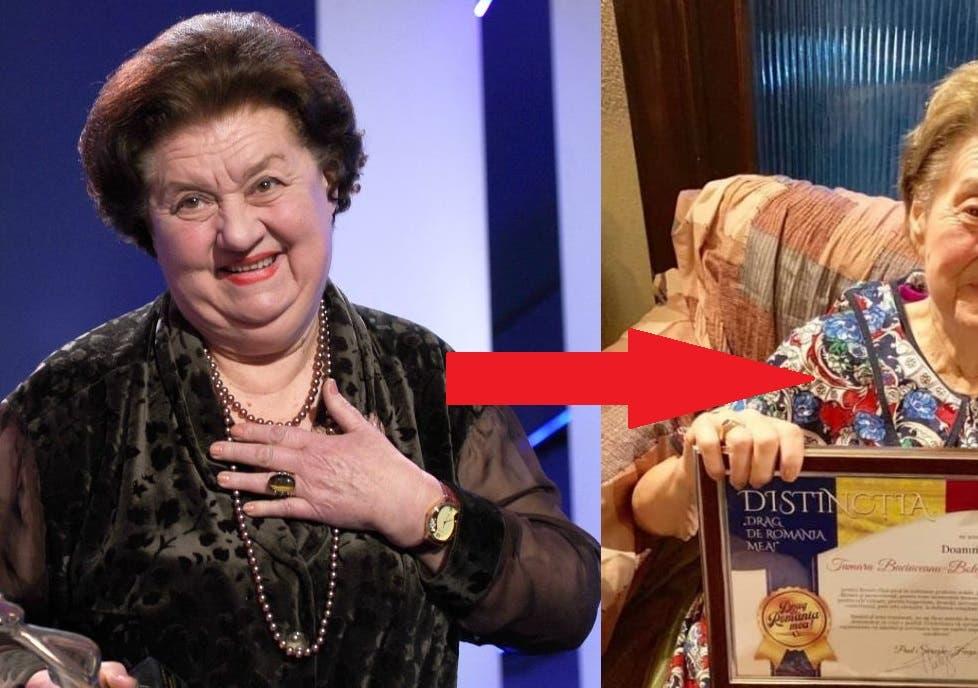 Ultima fotografie cu Tamara Buciuceanu-Botez ÎN VIAȚĂ. Cum ajunsese să arate actrița de 90 de ani?