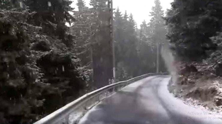 Iarna ajunge prea devreme! Prima ninsoare din România