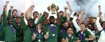 Africa de Sud, campioană mondială la rugby