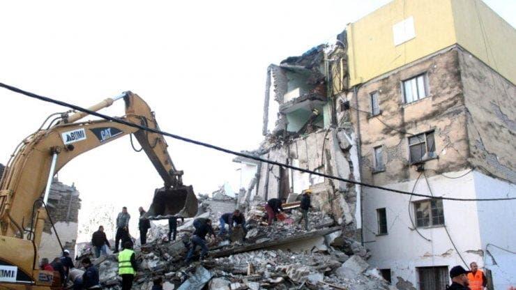 Cutremurul din Albania