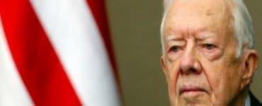 Jimmy Carter, fostul președinte american este internat în spital!