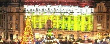 Târgul de Crăciun din București se deschide joi. 10 milioane de beculețe, în Piața Constituției