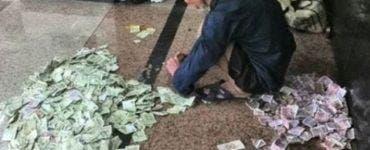 Un bătrân din Constanța a intrat într-o bancă țipând. Ce voia de la ei