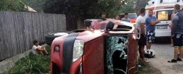 Accident grav la Odobești. Șase persoane au fost rănite