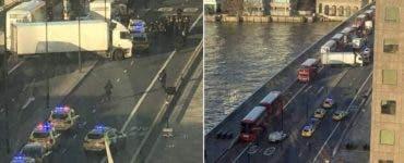 Atac armat în Londra! Polițiștii au împușcat un suspect
