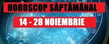 Horoscop săptămânal 18 - 24 noiembrie