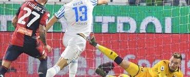 Ionuț Radu, paradă în Serie A