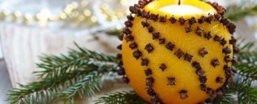 De ce trebuie să pui ulei de măsline în coajă de portocale, de Crăciun