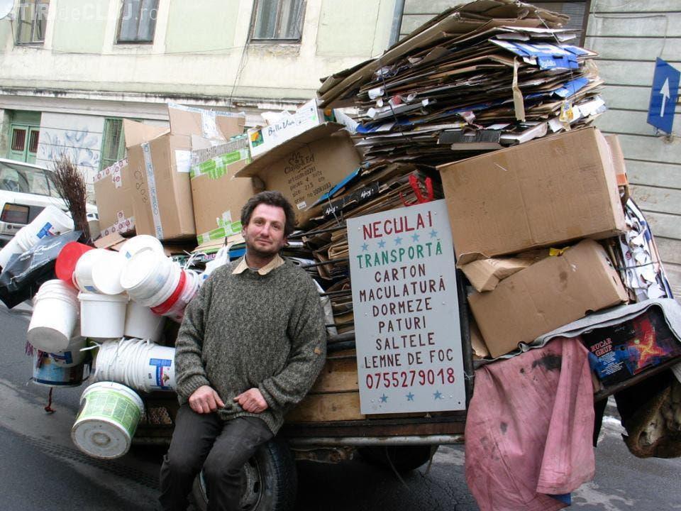 Un om al strazii din Cluj, scos din saracie de Facebook! Cititi o poveste impresionanta FOTO