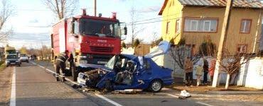 Accident mortal în Argeș. Un bărbat a murit, iar alte patru persoane sunt grav rănite