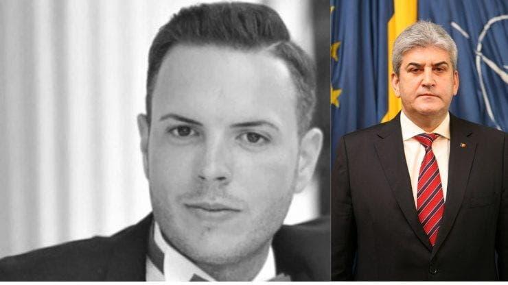 Cazul Gigină. Începe judecata morții polițistului Bogdan Gigină. Gabriel Oprea, acuzat de ucidere din culpă