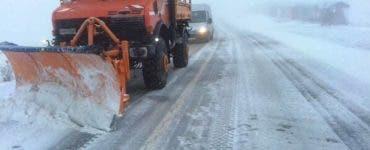 Circulația pe Transalpina va fi restricționată. Cât este stratul de zăpadă