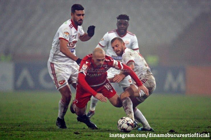 Dinamo nu se mai gândeşte la play-off