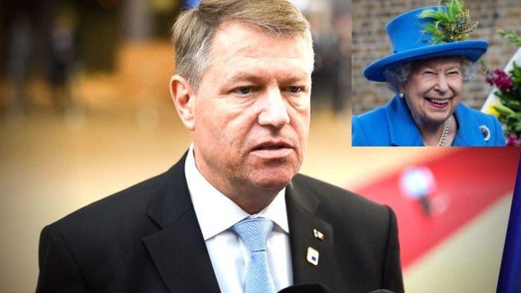 Președintele României va fi primit de regina Elisabeta a II-a la Palatul Buckingham
