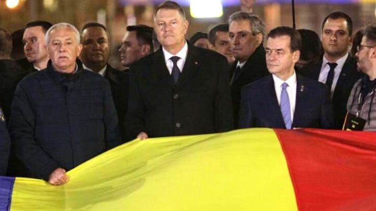 Marș în București, în memoria victimelor care au murit la Revoluție. Iohannis:Sunt primul președinte care nu a fost comunist