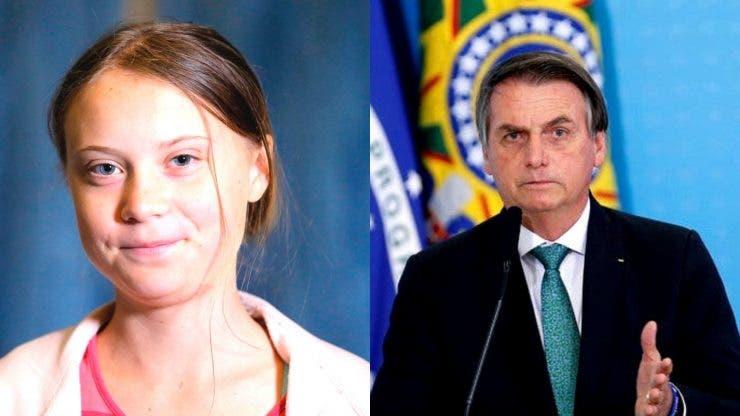 Președintele brazilian a jignit-o pe activista Greta Thunberg