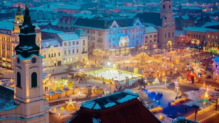 """Restricții în zona """"Târgului de Crăciun"""" din Capitală, începând de vineri până pe 26 decembrie"""