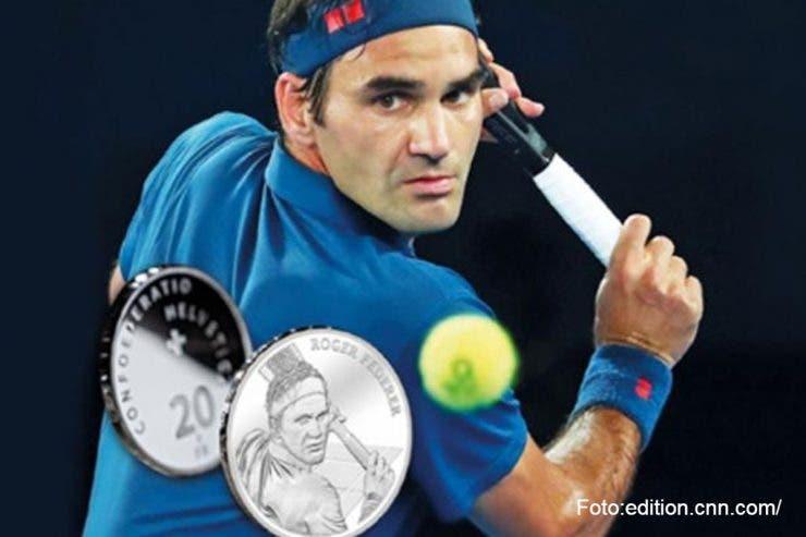 Roger Federer va avea monedă