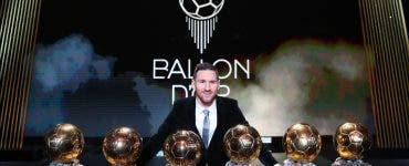 S-a anunțat! Leo Messi a luat Balonul de Aur